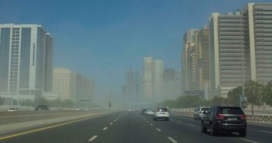 uae-weather-alert:-strong-winds,-dust-storm-on-monday,-rain-forecast-for-the-next-two-days